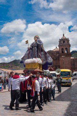 Religious holiday in Cuzco