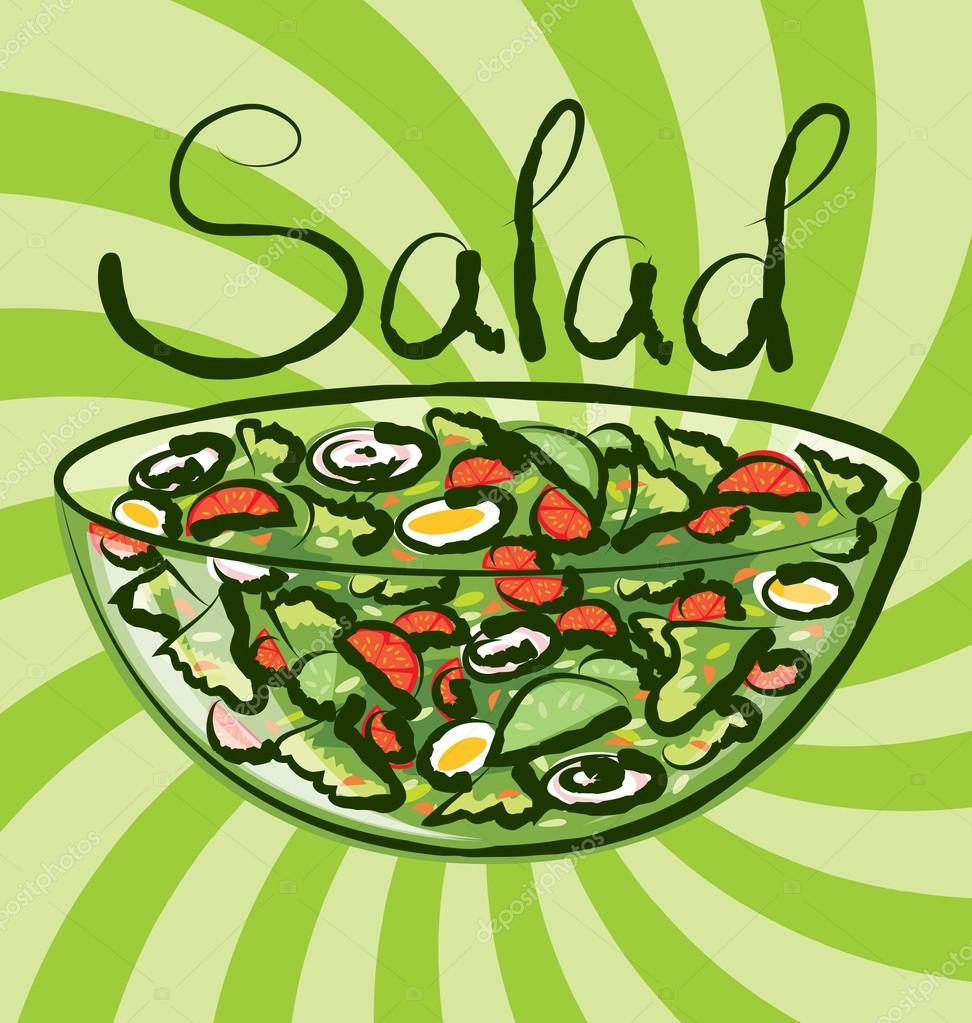 Картинки с надписью салат