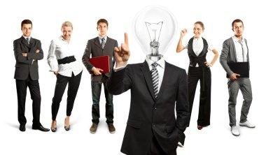 Business Team Idea concept