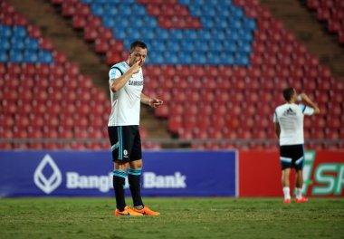 BANGKOK, THAILAND - MAY 29:John Terry captain of Chelsea in acti