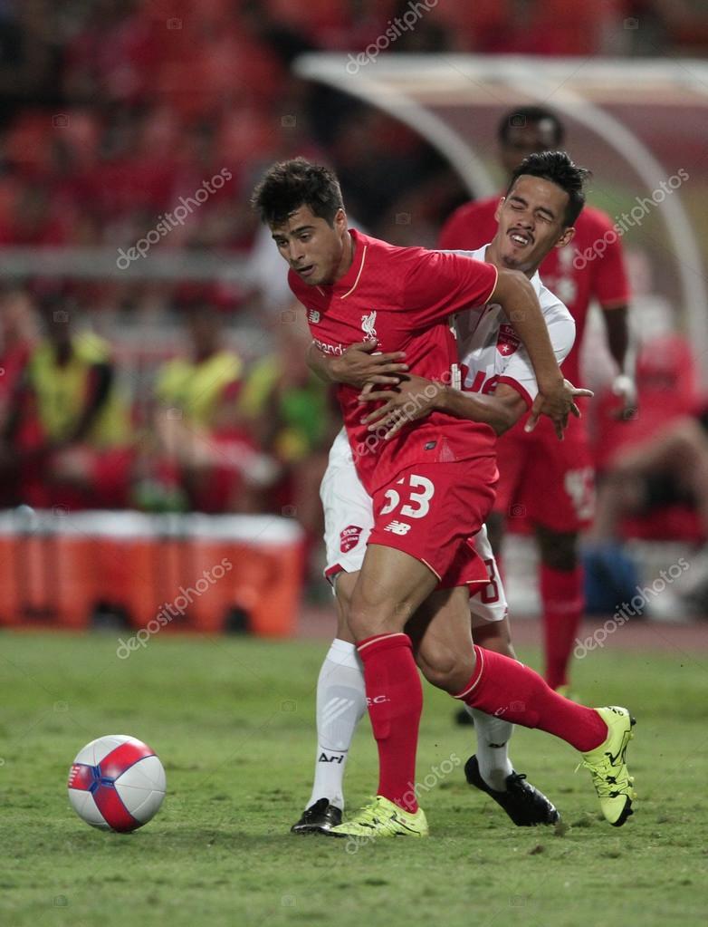 BANGKOK, THAILAND - JULY 14:Joao Carlos Teixeira of Liverpool in