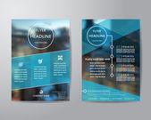 Obchodní brožura leták navrhovat šablony rozložení v rozměru A4, s