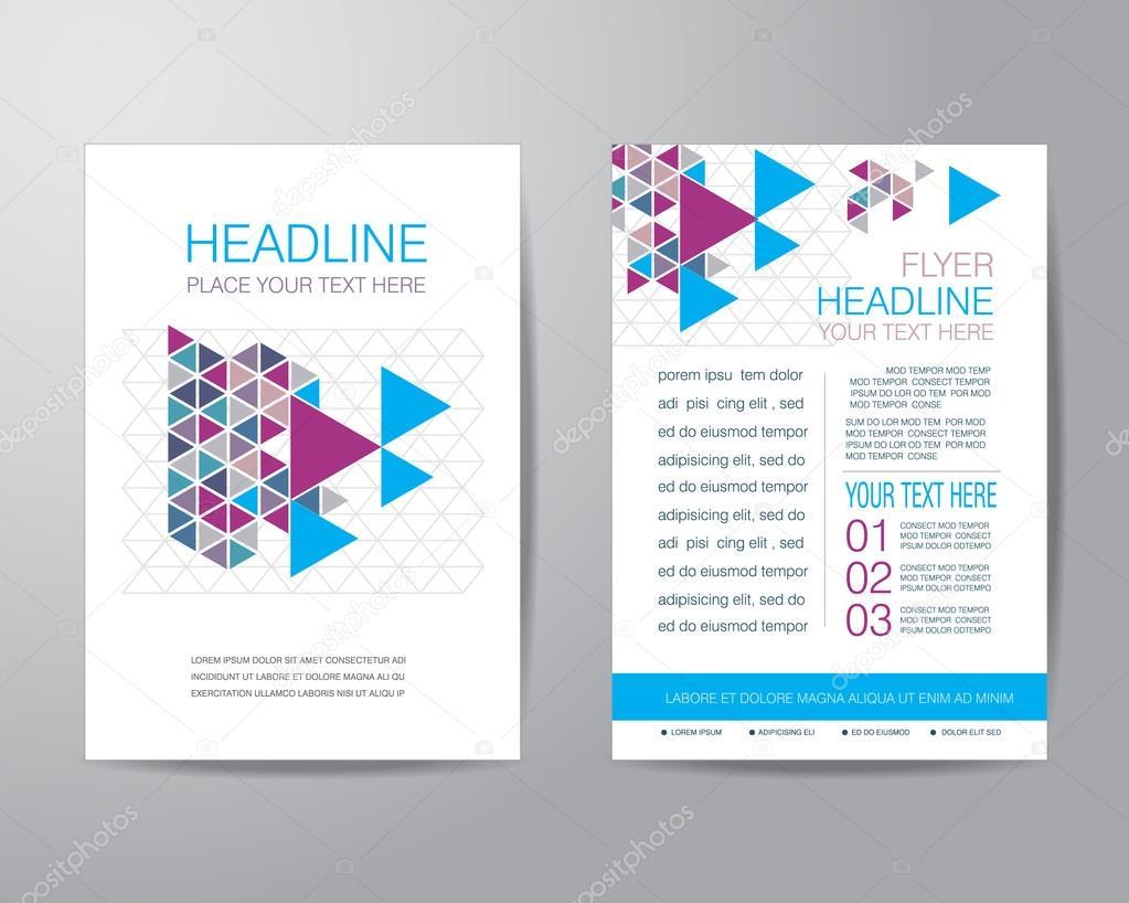 flyer format