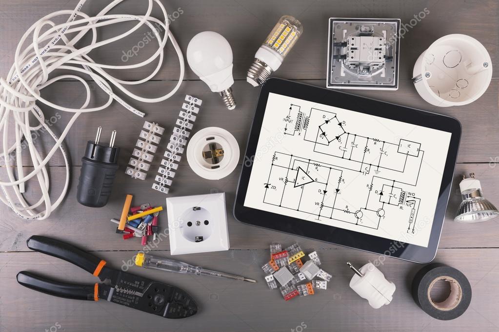 Schema Elettrico Za : Ridurre in pani digitale con schema di circuito e apparecchiature