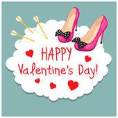Fotografie Cartoon Grußkarten Valentinstag