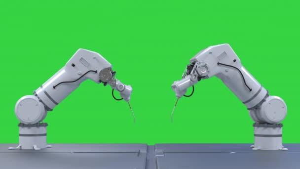 robotkar izolálva