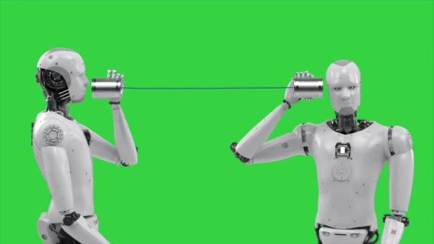 robot držící plechovku
