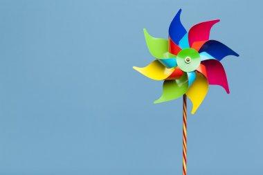 Colorful pinwheel isolated