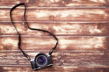 Digital camera with retro style