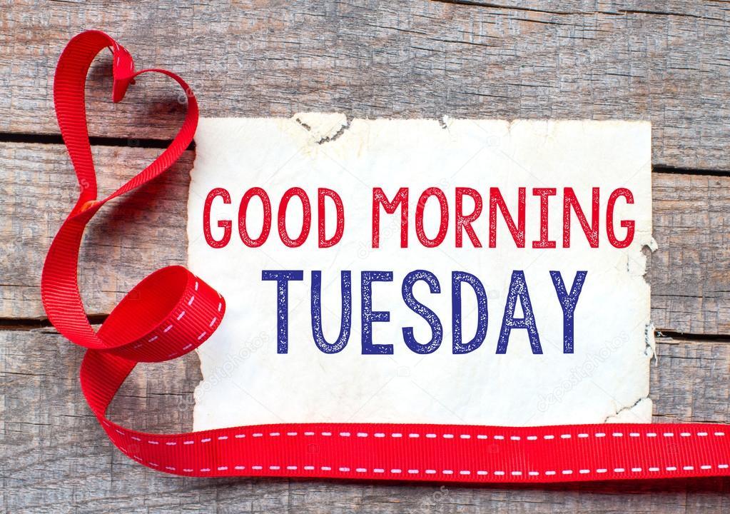 47b055a1470b Καλή Τρίτη πρωί — Φωτογραφία Αρχείου © roobcio  54027401