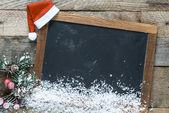 Fotografie Tabule a Vánoční dekorace