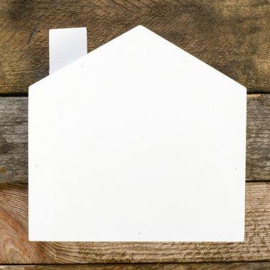 White Real estate sign