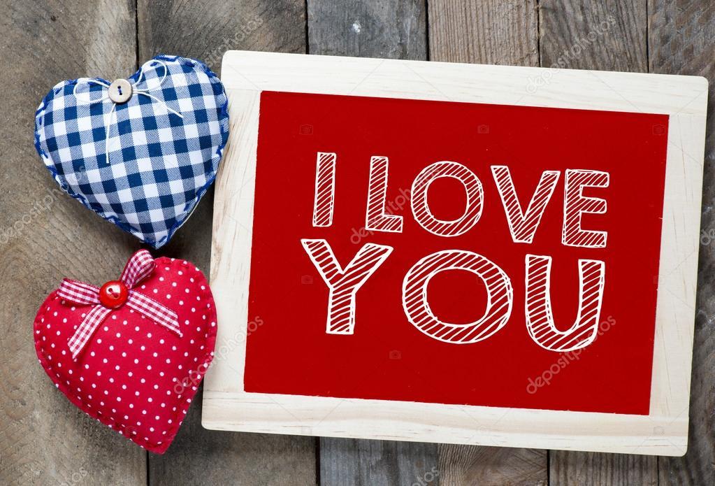 I love you frame — Stock Photo © roobcio #61252659