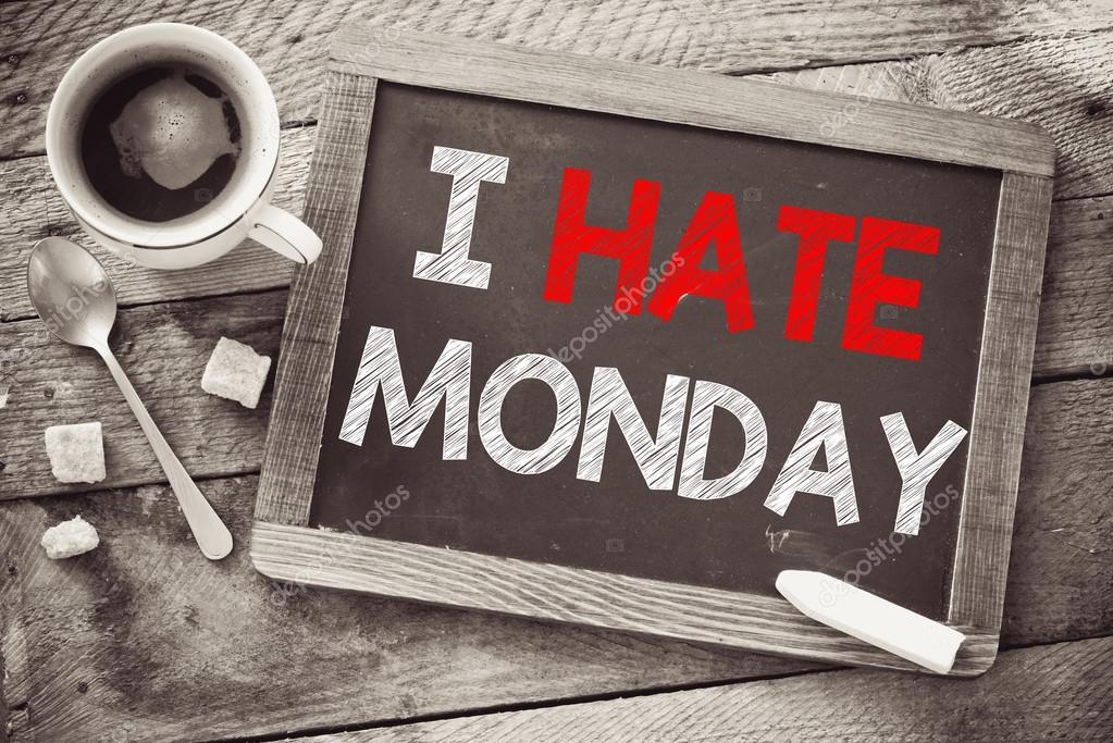 Image result for i hate mondays coffee
