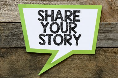 Share your story   bubble
