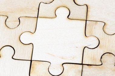 Jigsaw puzzle background