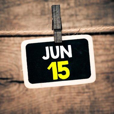 June 15 on blackboard
