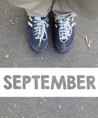 Male sneakers with  september