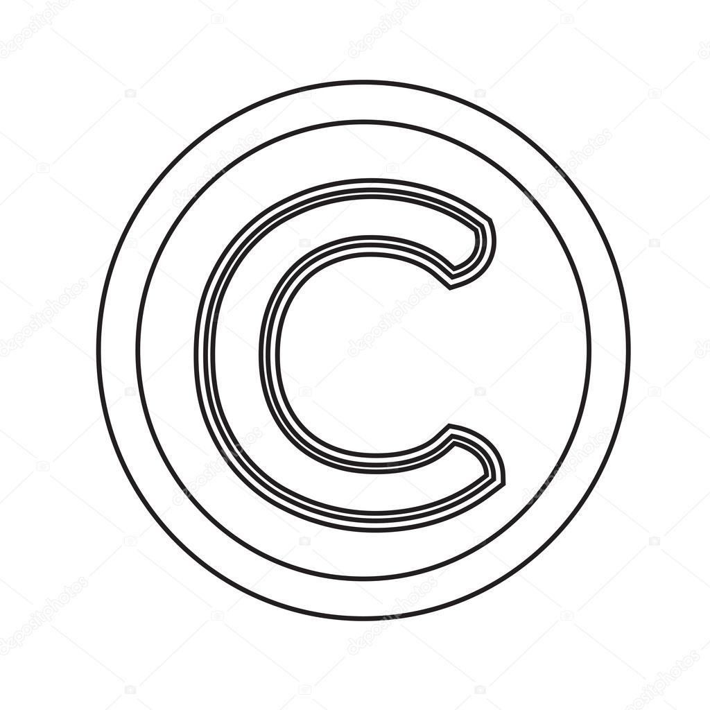 Copyright symbol icon illustration design stock vector porjai copyright symbol icon illustration design stock vector biocorpaavc
