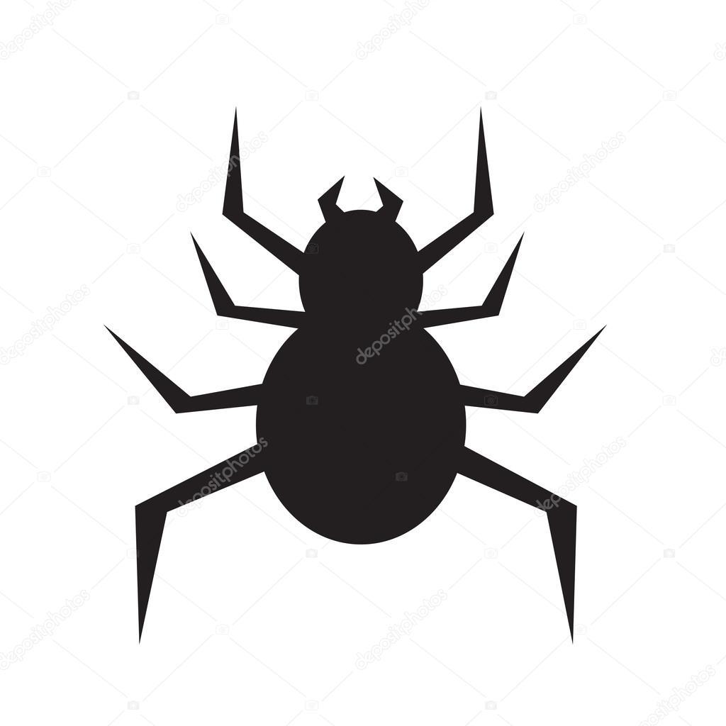 蜘蛛アイコン イラスト デザイン ストックベクター Porjai 107368050