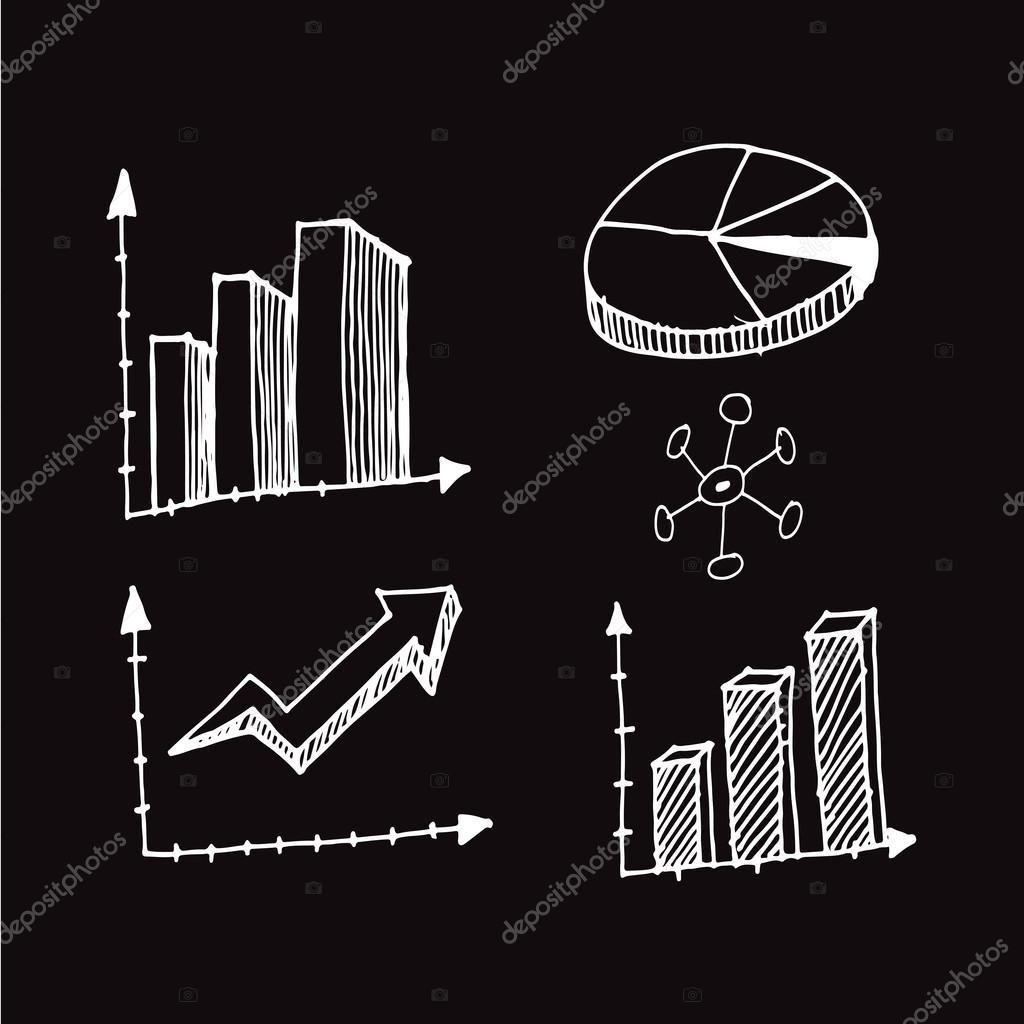 Volne Kresleni Grafu Stock Vektor C Porjai 115167370