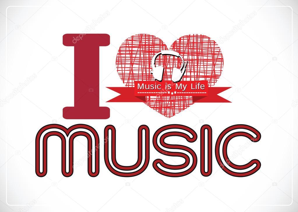 Music is Life PinButton