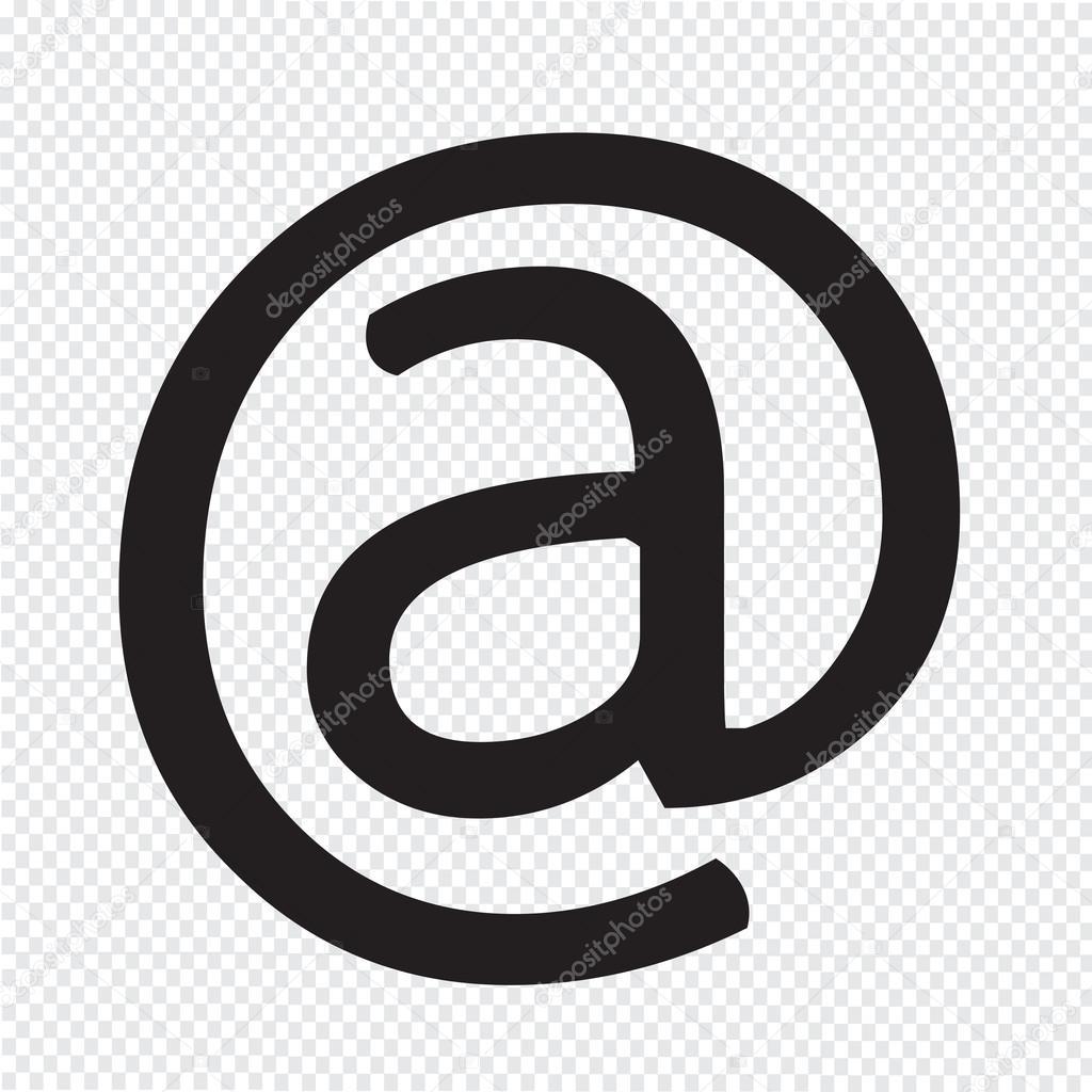 Email Symbol Icon Stock Vector Porjai 86256396