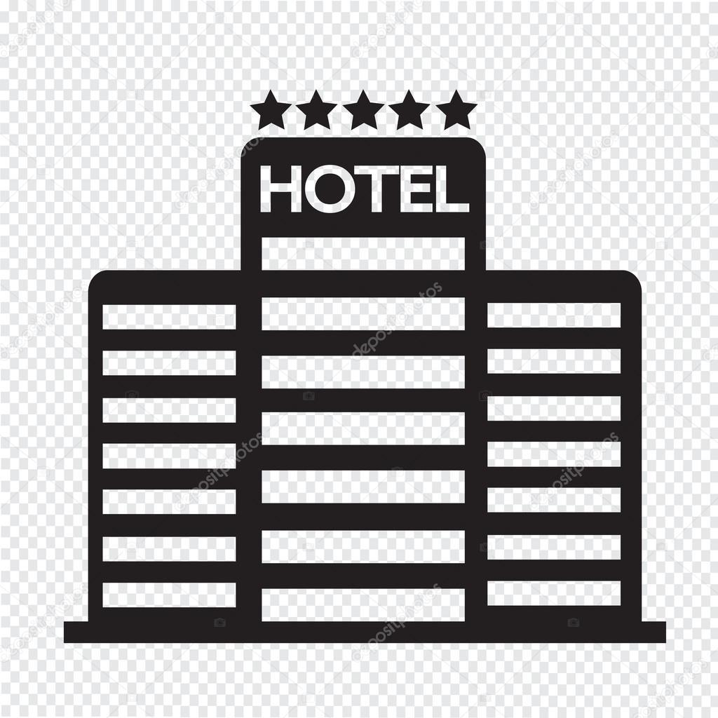 Five Star Hotel Icon Stock Vector