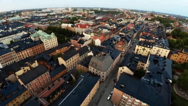 Stockholm. Staré město. Architektura, staré domy, ulice a čtvrti.