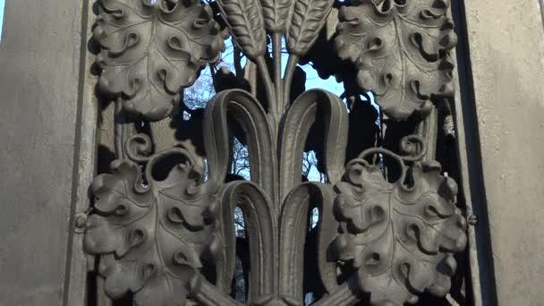 dekoratív öntöttvas kerítés