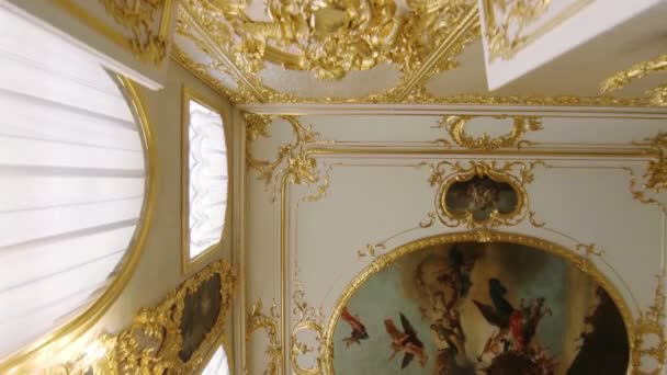 Gorgeous ceilings and interiors of the Catherine Palace in St. Petersburg.