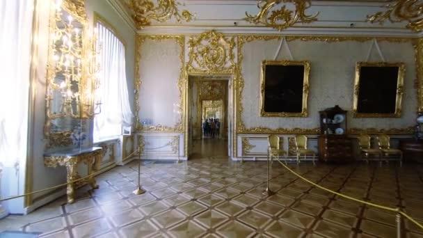 Le camere sono stupende e gli interni del Palazzo di Caterina a San Pietroburgo