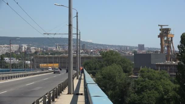 Asparuhov bridge in Varna