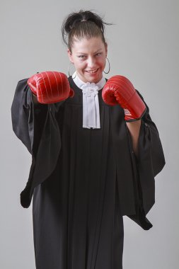 Lawyer fighter