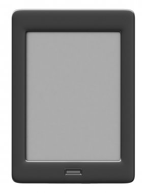 3d render of electronic book