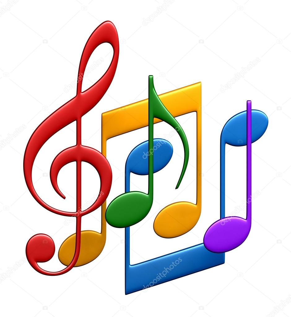 3d rendering of music notes stock photo  u00a9 oorka5 106525968 musical notes clipart musical note clip art free