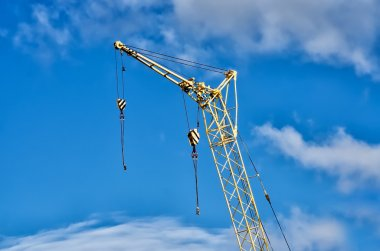 Yellow Industrial Cranes