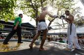 Prison fight, muay thai competition