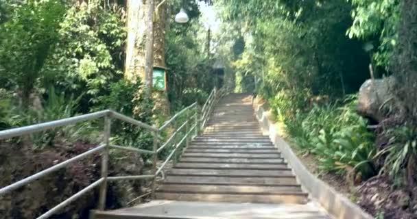 Wat Tham Pha Plong Stairway