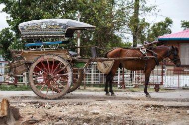Horse Cart in Myanmar