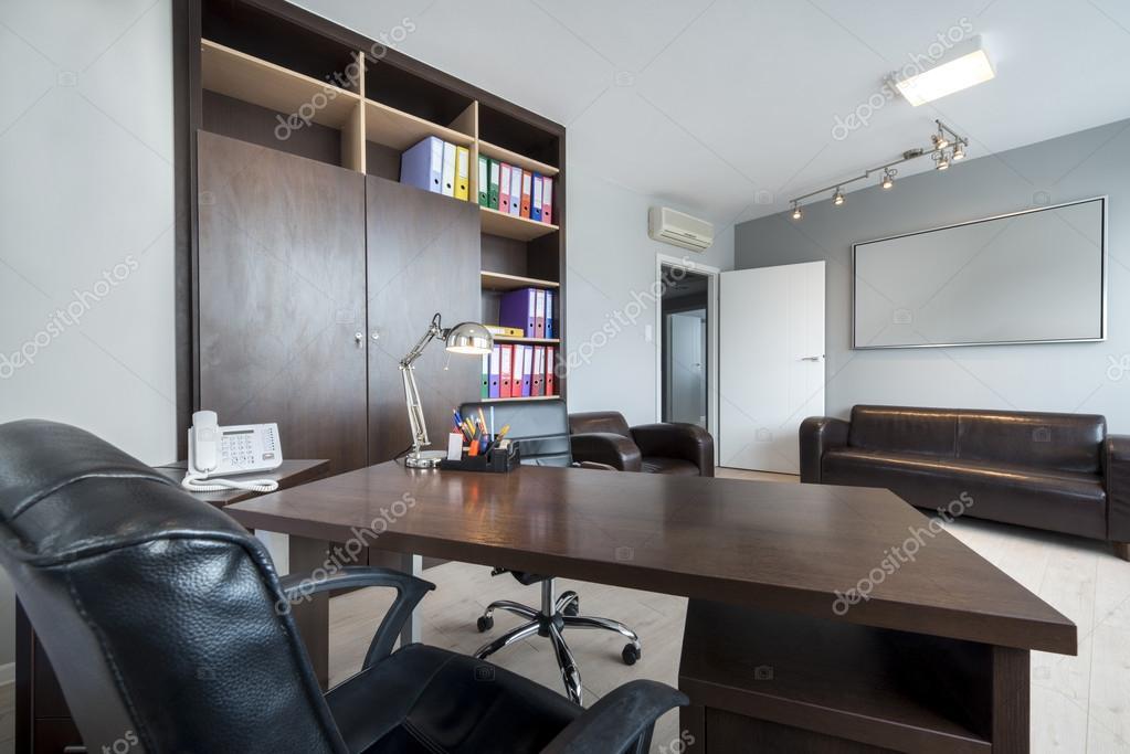 diseño de interiores de oficina moderna — Fotos de Stock ...