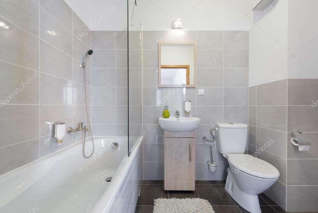badezimmer im skandinavischen stil stockdatei - Badezimmer Skandinavischen Stil