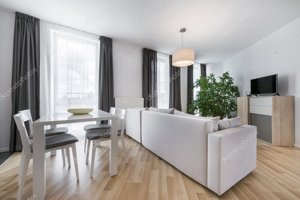 soggiorno moderno design d\'interni — Foto Stock © jacek_kadaj #52566465