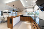 Photo Modern kitchen interior design