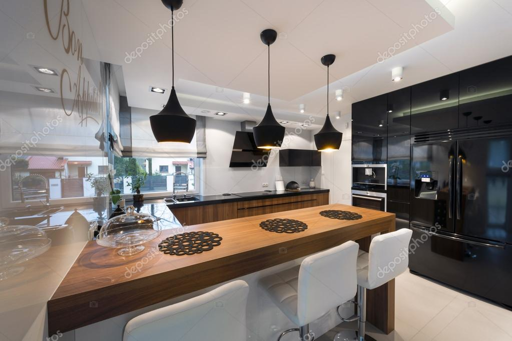Moderne Küche Innenarchitektur U2014 Stockfoto