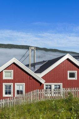 Vacation houses on Lofoten Islands