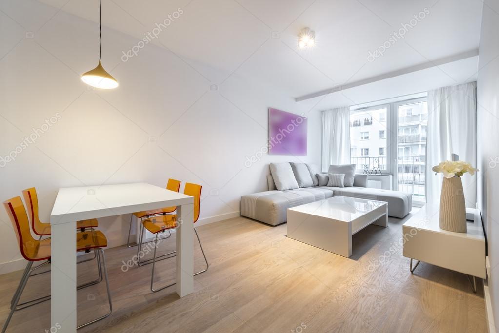 modern interieur woonkamer — Stockfoto © jacek_kadaj #93863078