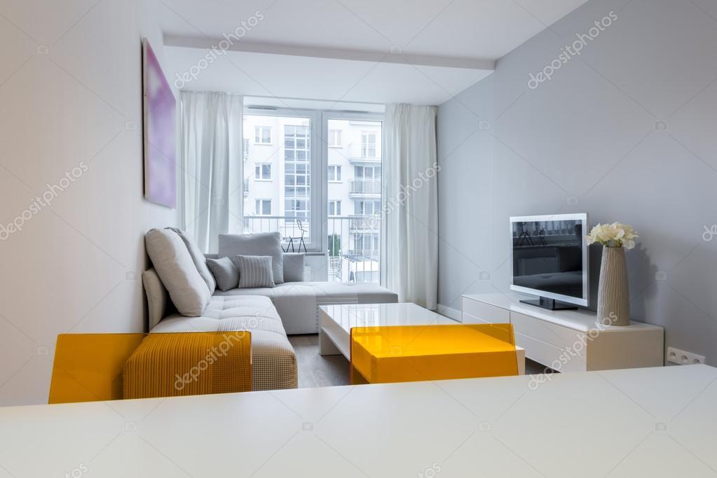 modern interieur woonkamer — Stockfoto © jacek_kadaj #93863424