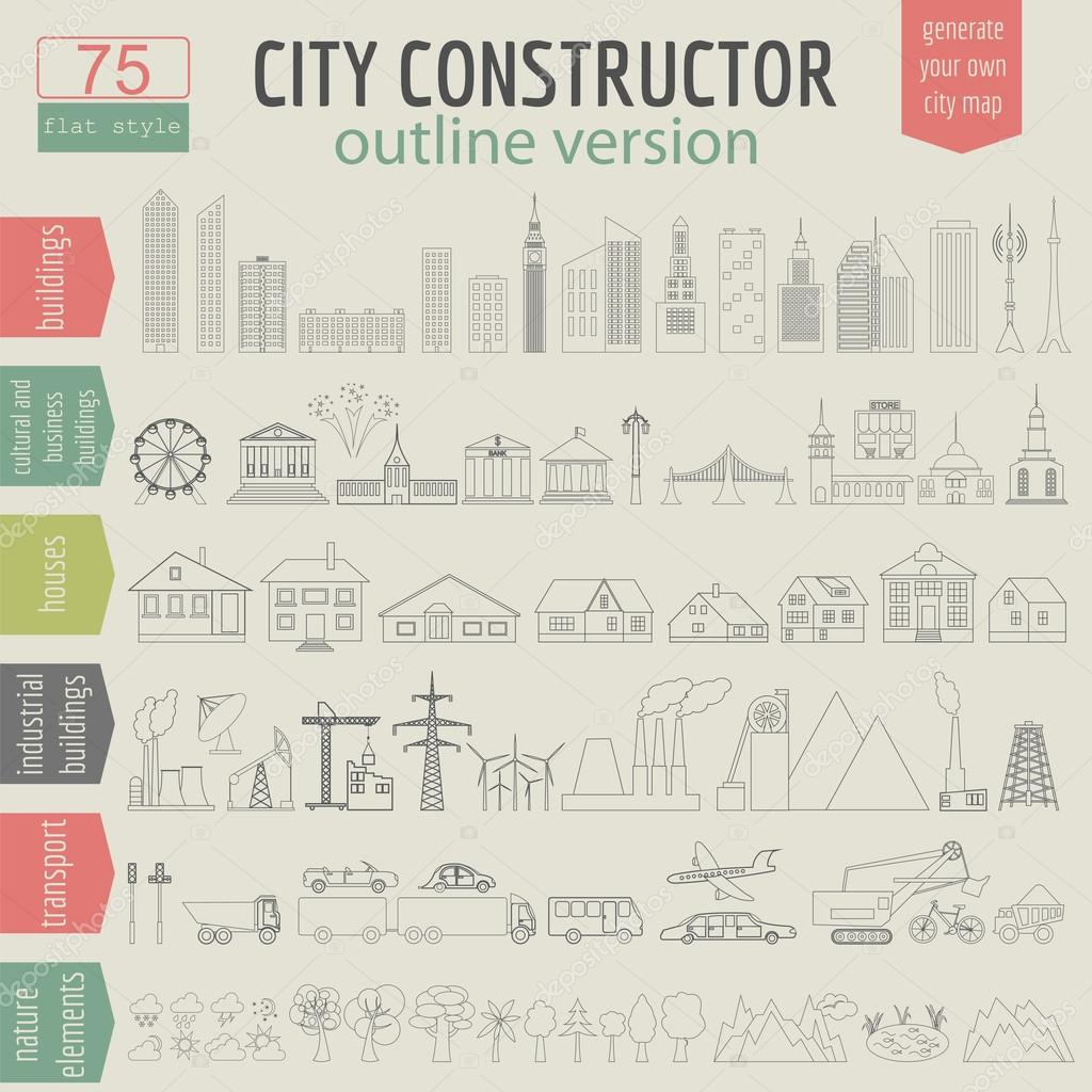 D City Map Generator on