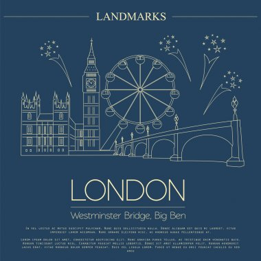 World landmarks. London. United Kingdom.Westminster Abbey, the B
